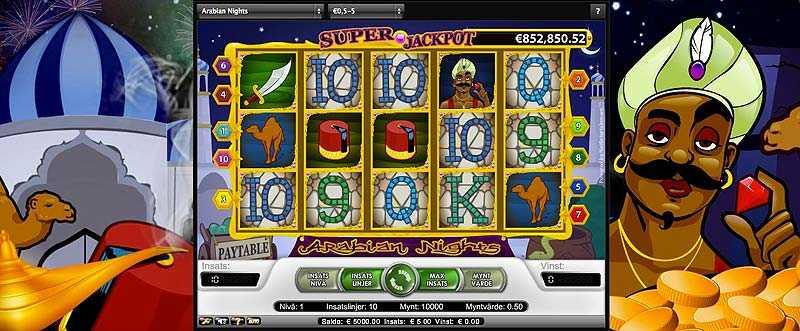 27 maj vann 44-åriga kvinnan 28 miljoner på nätcasinospelet Arabian Nights.