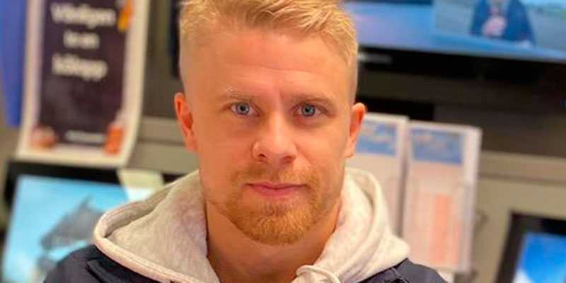 Anton Johansson, hjärnan bakom det vinnande systemet.