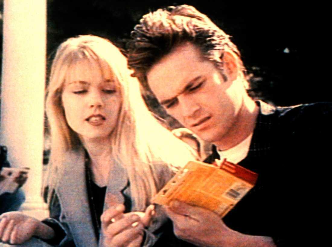 Kelly Taylor (Jennie Garth) och Dylan (Luke Perry) hade ett ganska komplicerat förhållande.