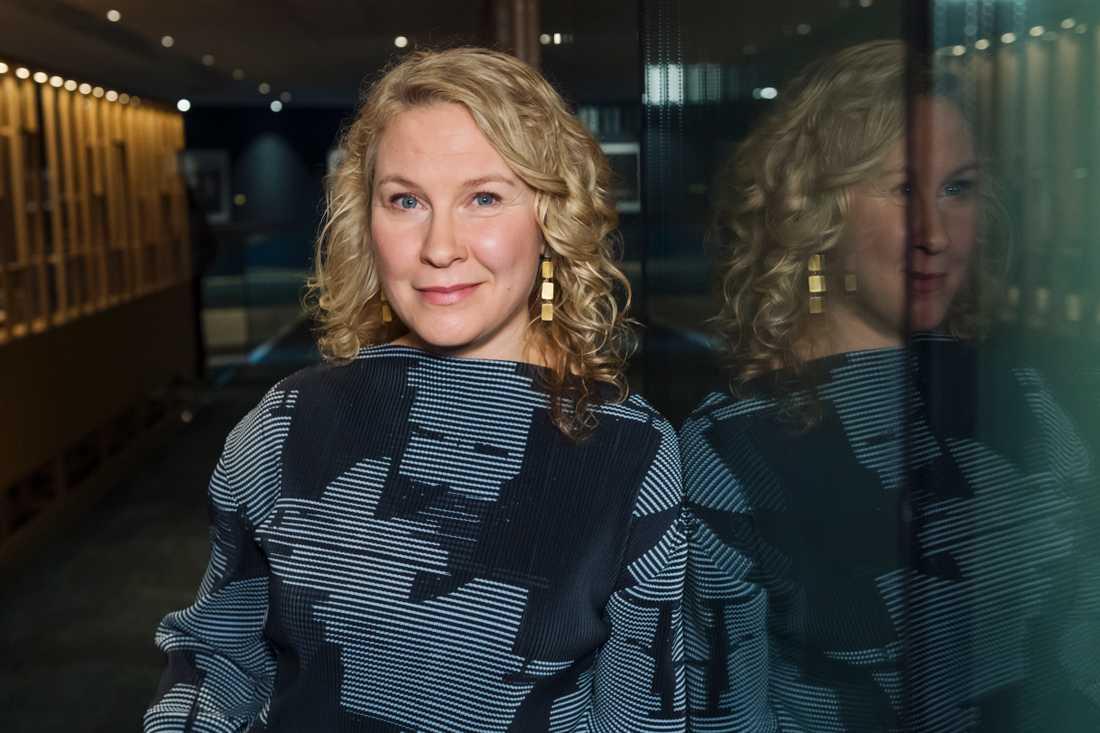 Eva Melander medverkar i SVT:s och DR:s nya dramasatsning. Arkivbild.