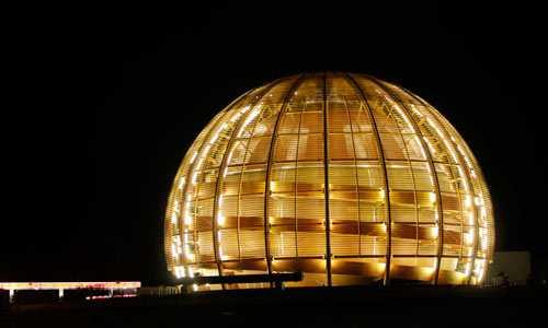Cern-laboratoriet i Schweiz.