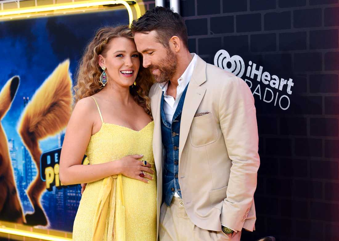 Blake Lively och Ryan Reynolds.