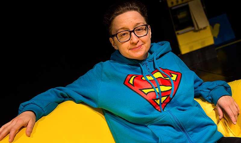 Regissören och  manusförfattaren Gertrud Larsson. Foto: Leo Sellén/Scanpix