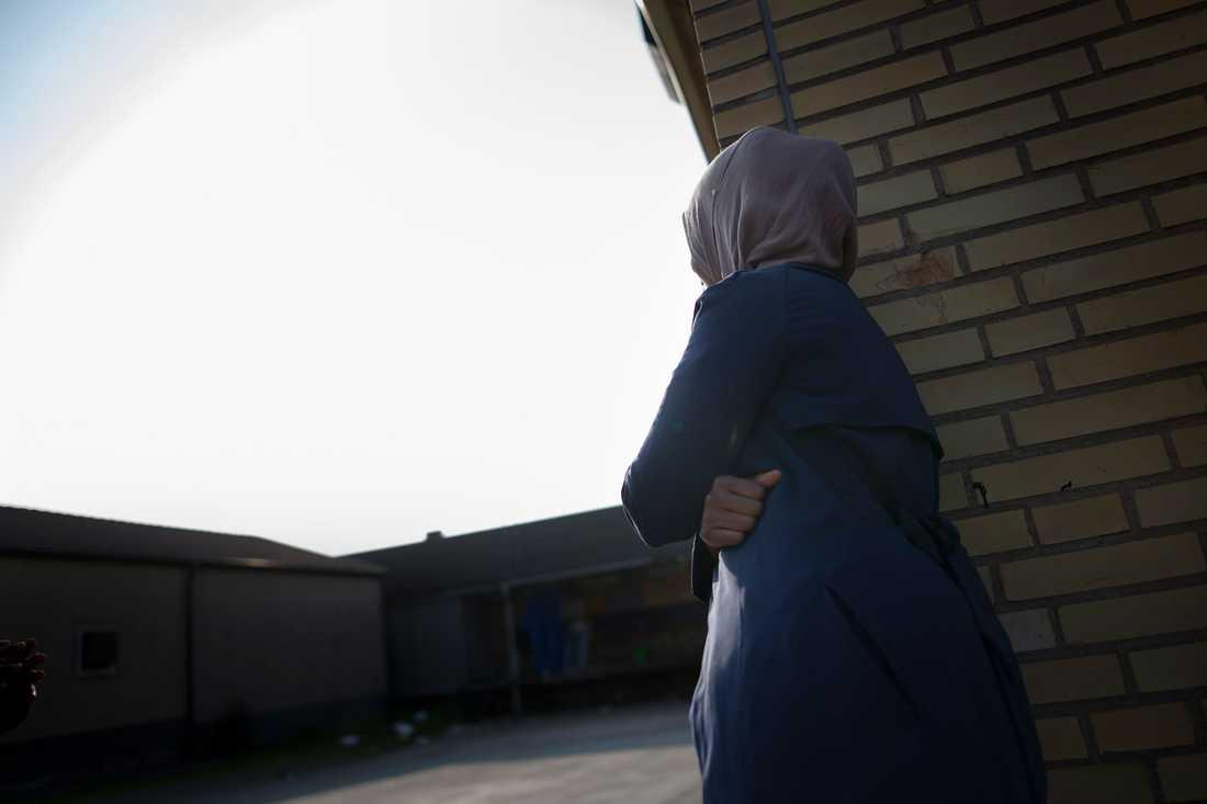 Fardusa, 23, blev tillsagd att ta av sig sin slöja – på vårdcentralen.