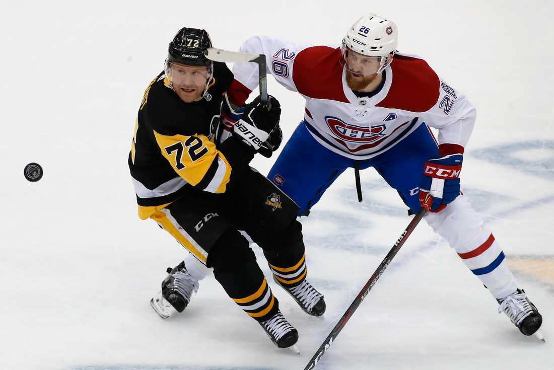 Pittsburghs Patric Hörnqvist gjorde ett mål i matchen mot Montréal.