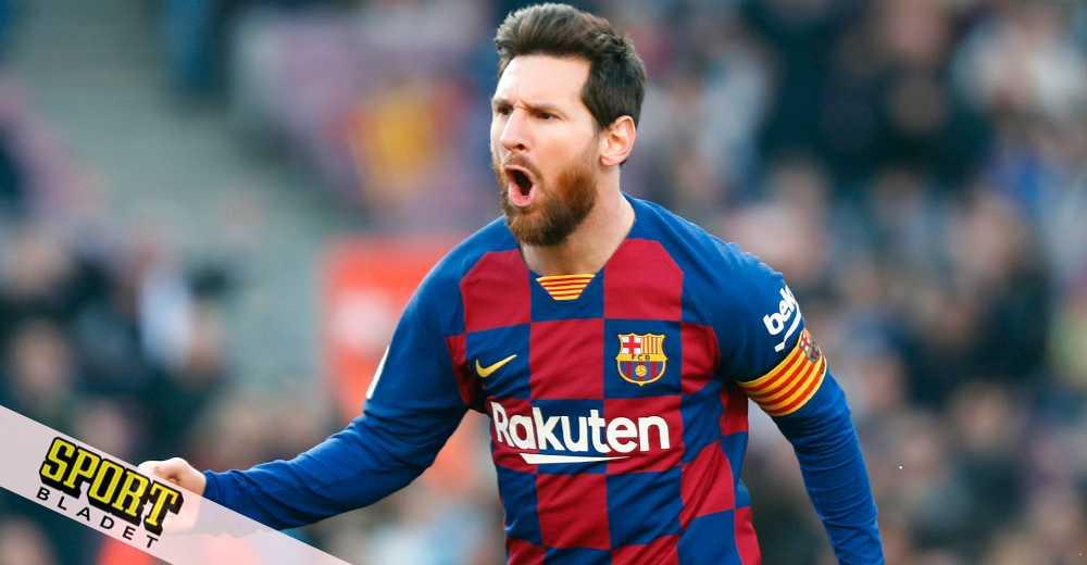 Messi fyramålsskytt – bar Barcelona till storseger