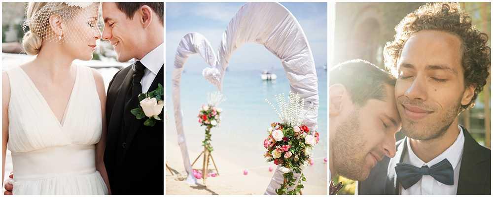 Italien och Karibien toppar listan över bröllopsdestinationer.