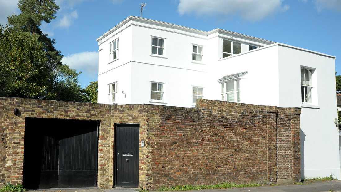 Harrys hus Här bor Harry