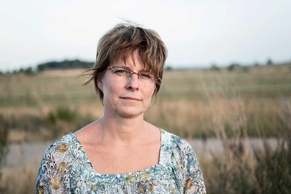 Mjölkbonden Annika Ydrestrand säger att ytterligare en torr sommar skulle bli katastrof för bönderna.