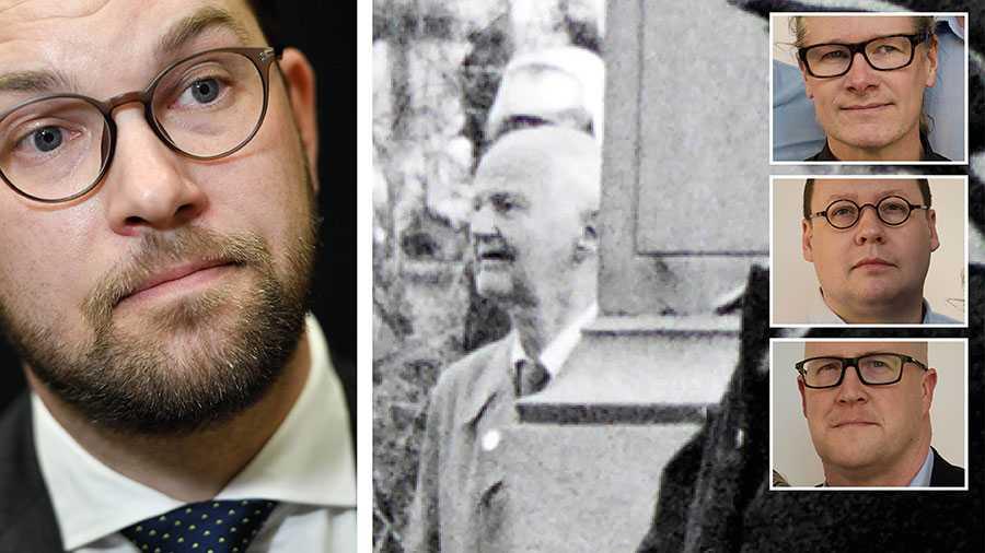 Det råder ingen tvekan om att SS-svensken Gustaf Ekström var en nyckelperson vid grundandet av SD, som han arbetade för ända fram till sin död 1995. Han var även aktiv nazist under hela sitt vuxna liv, skriver debattörerna.