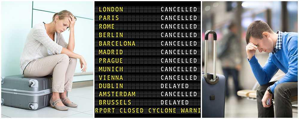 """Vagabond publicerar varje år """"Svarta listan"""" som visar de resebolagen som vägrar ersätta passagerare vid förseningar och annat strul."""