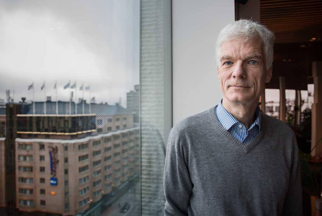 Andreas Schleicher, OECD:s chef för utbildningsfrågor och Pisaansvarig, säger att Sverige gjorde rätt som inte stängde ned grundskolorna när pandemin bröt ut. Arkivbild.