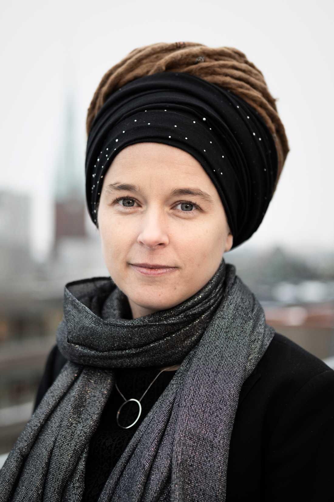 Kulturminister Amanda Lind (MP)
