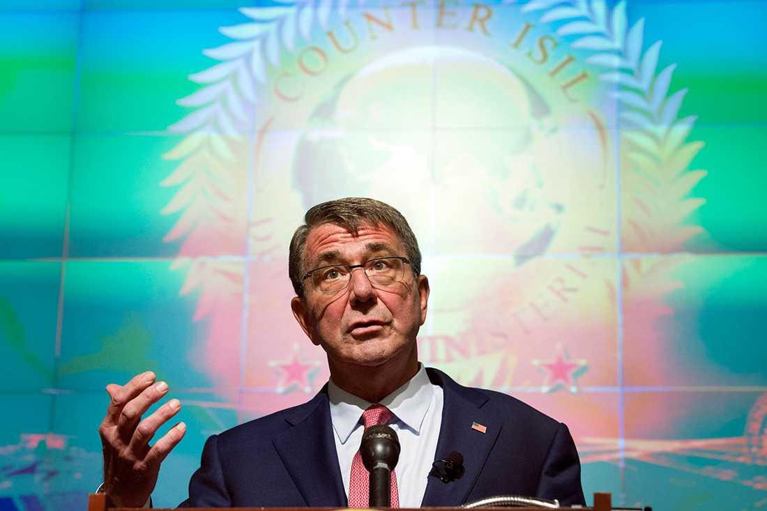 USA:s försvarsminister Ash Carter.