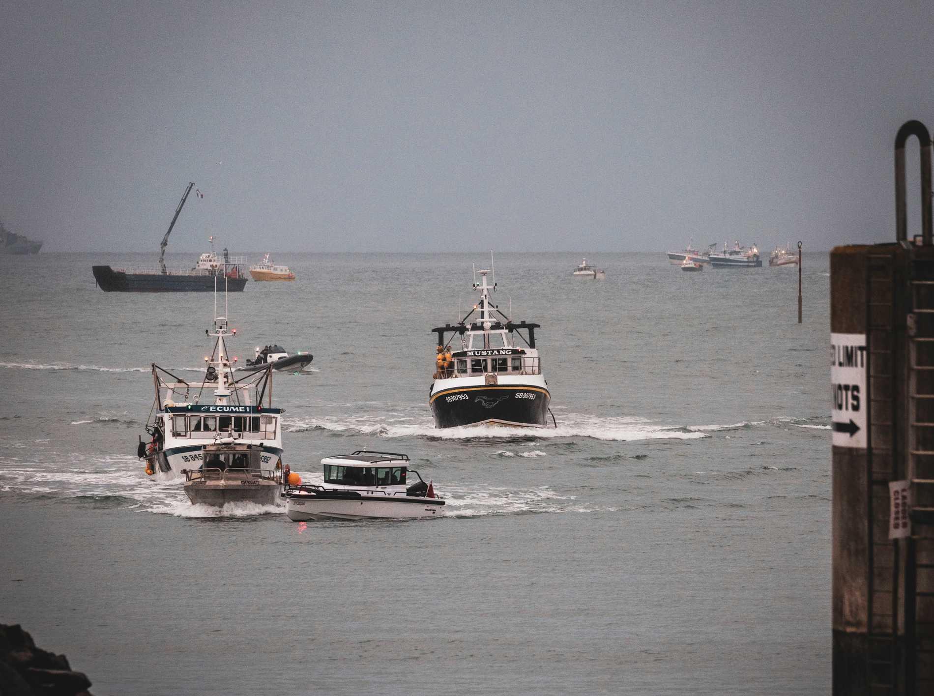 Villkoren för hur främst franska båtar ska få fiska utanför Jersey har debatterats sedan brexit. Arkivbild.