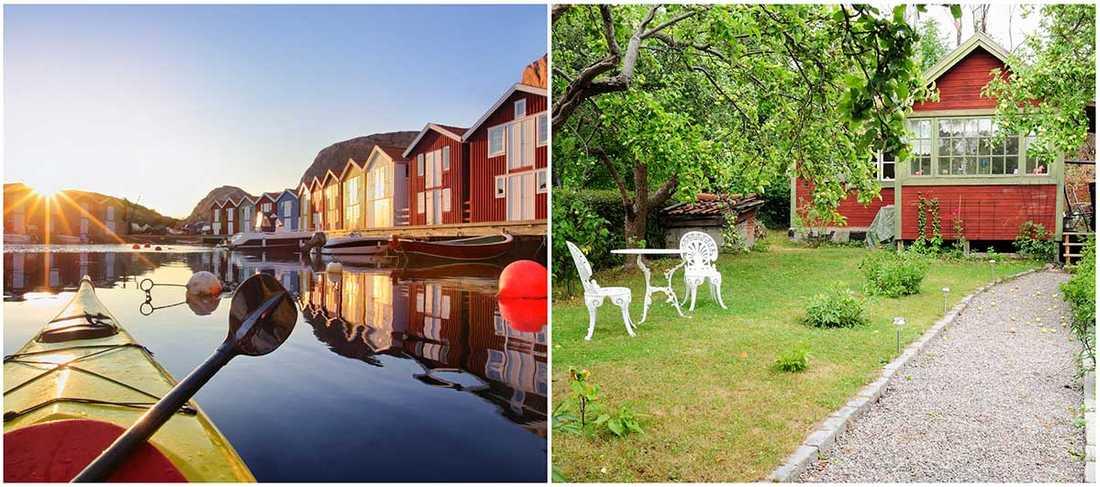 Bohuslän och Öland är de populäraste platserna för svenskarna som vill hyra ett sommarhus.