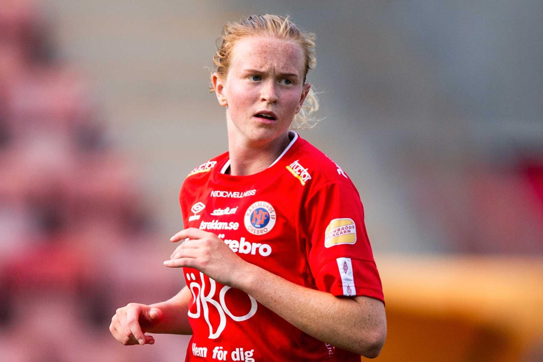 Kif Örebros Emma Östlund. Arkivbild.