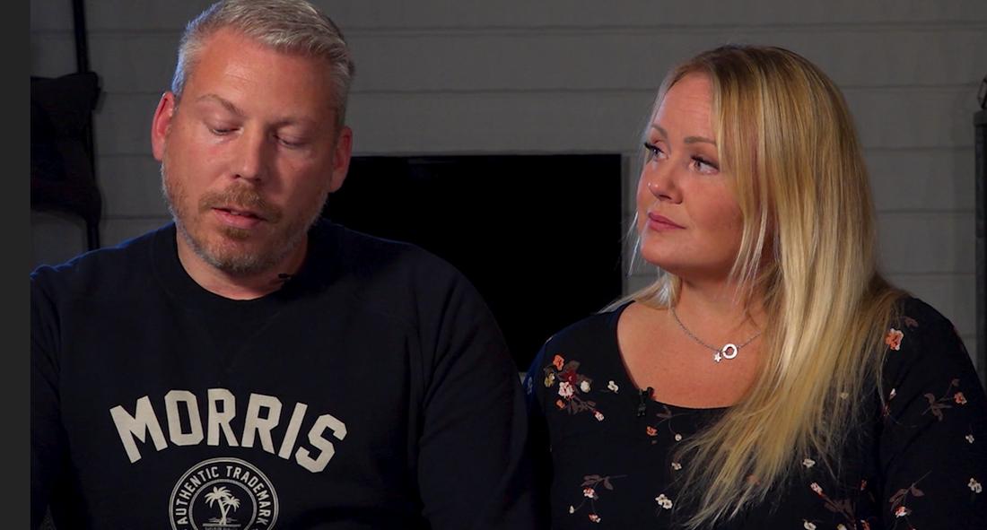Maria och Christer Lärka förlorade sin dotter.