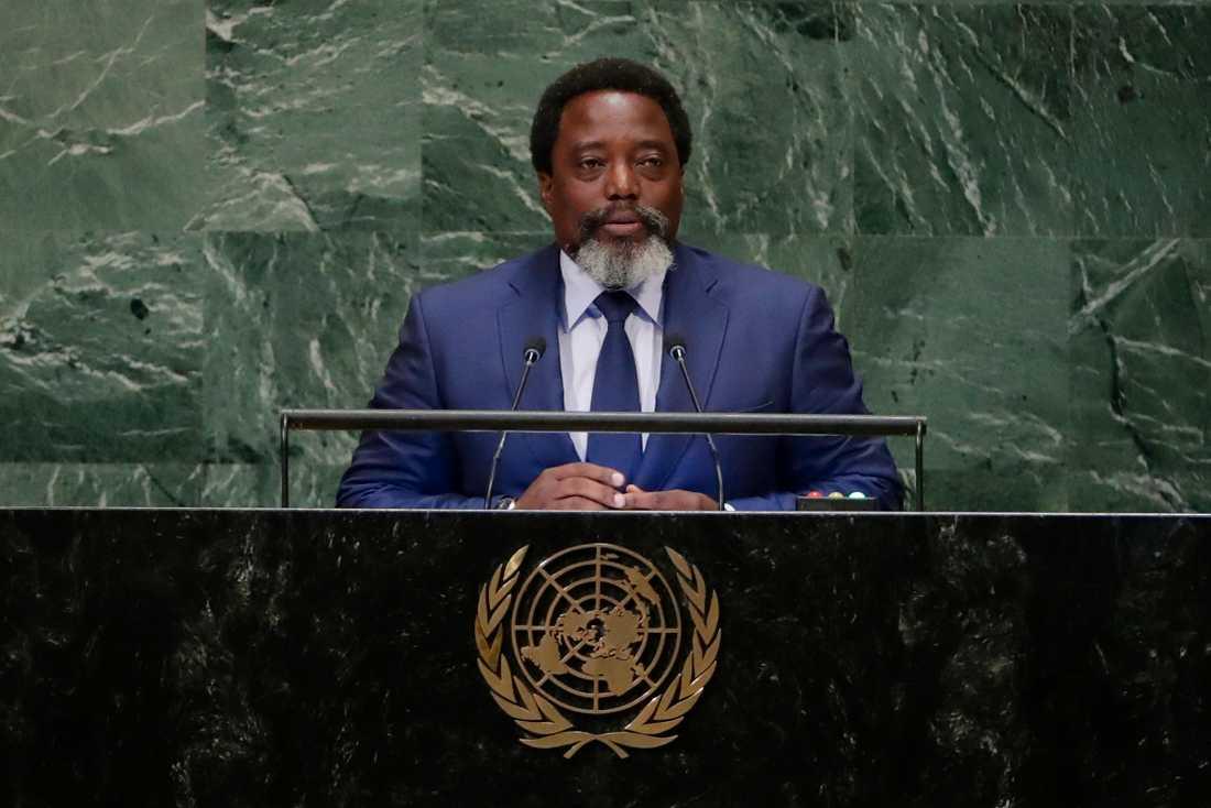 President Joseph Kabilas styre har blivit allt mer auktoritärt sedan han tog över makten 2001.