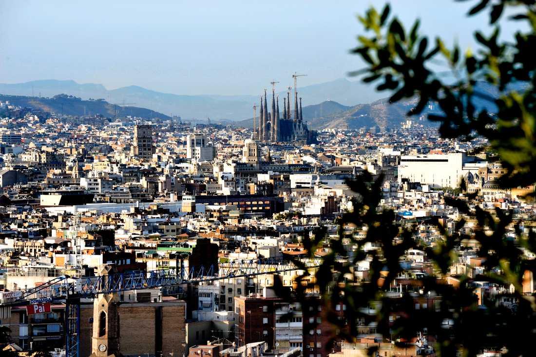 Barcelona. Arkivbild.
