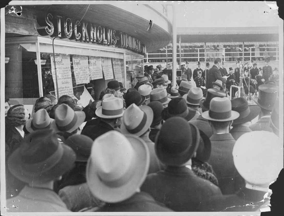 Slussen 1935 Invigning.
