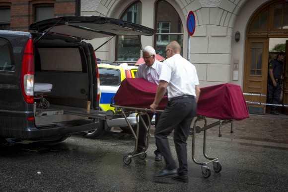 Den 30 juli i år dödades en 52-årig kvinna i Malmö. Grannar har tidigare hört att det varit bråk i lägenheten. FOTO: Krister Hansson.
