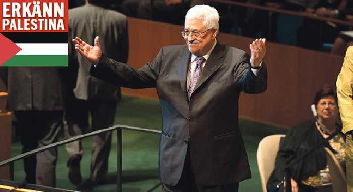 hyllas Mahmoud Abbas får applåder efter att ha talat inför FN:s generalförsamling i samband med Palestinas ansökan om medlemskap.