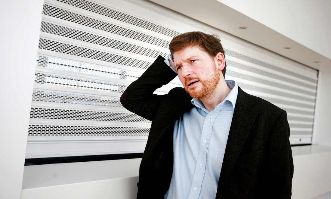 Centerns Martin Ådahl är huvudarkitekten bakom privatiseringen av Arbetsförmedlingen.