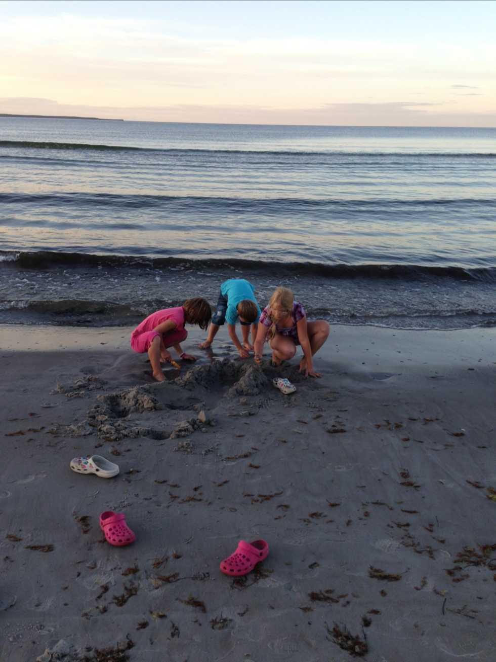 Dalin barnen från Heby på Böda Öland