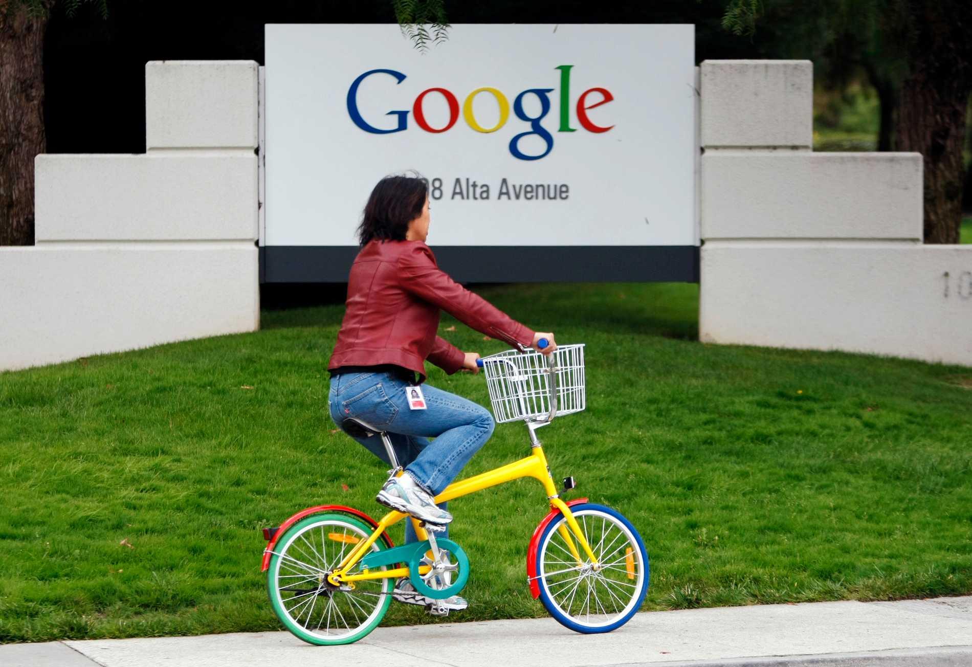 Google behåller sin popularitet. Arkivbild.