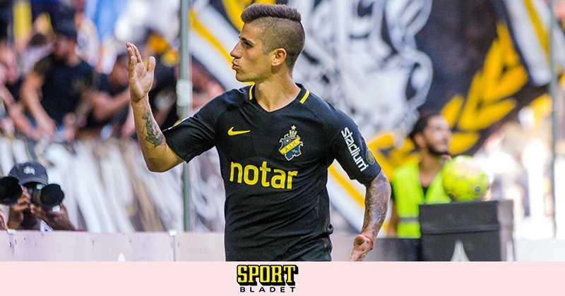 """Nicolás Stefanelli: """"Går hårt för att vinna skytteligan"""""""