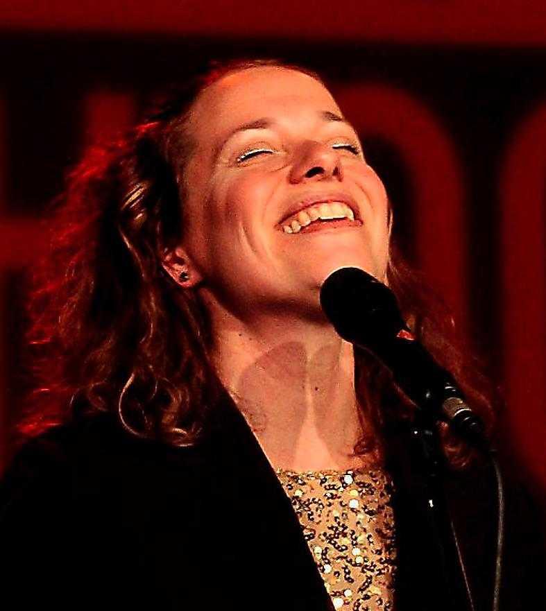 Lina Nyberg, jazzsångerska.