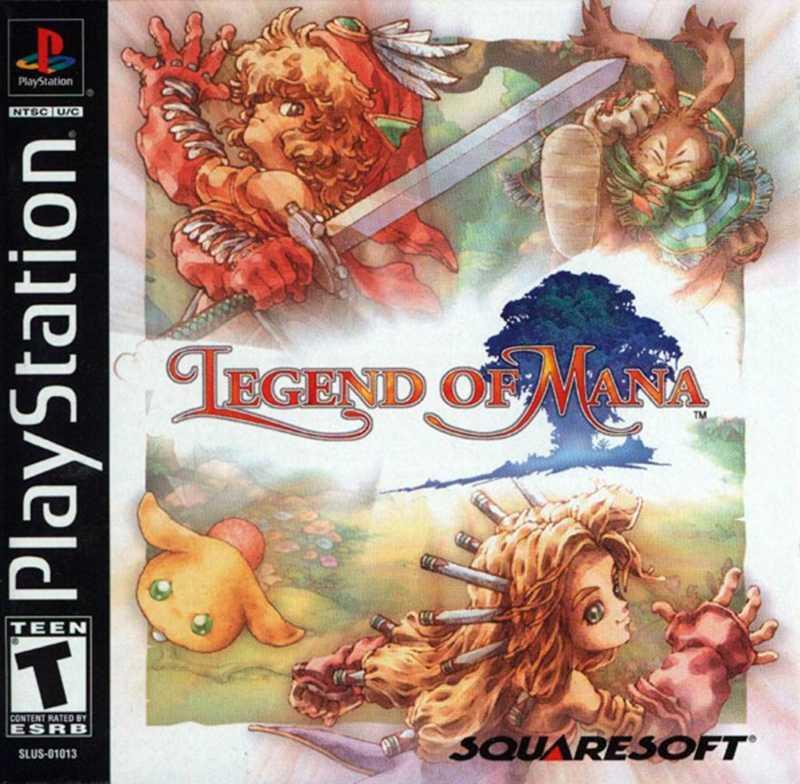 """""""Legend of mana"""" släpptes till Playstation i Japan 1999 – och sålde i 400 000 exemplar bara under första veckan. Det släpptes dock aldrig i Sverige."""