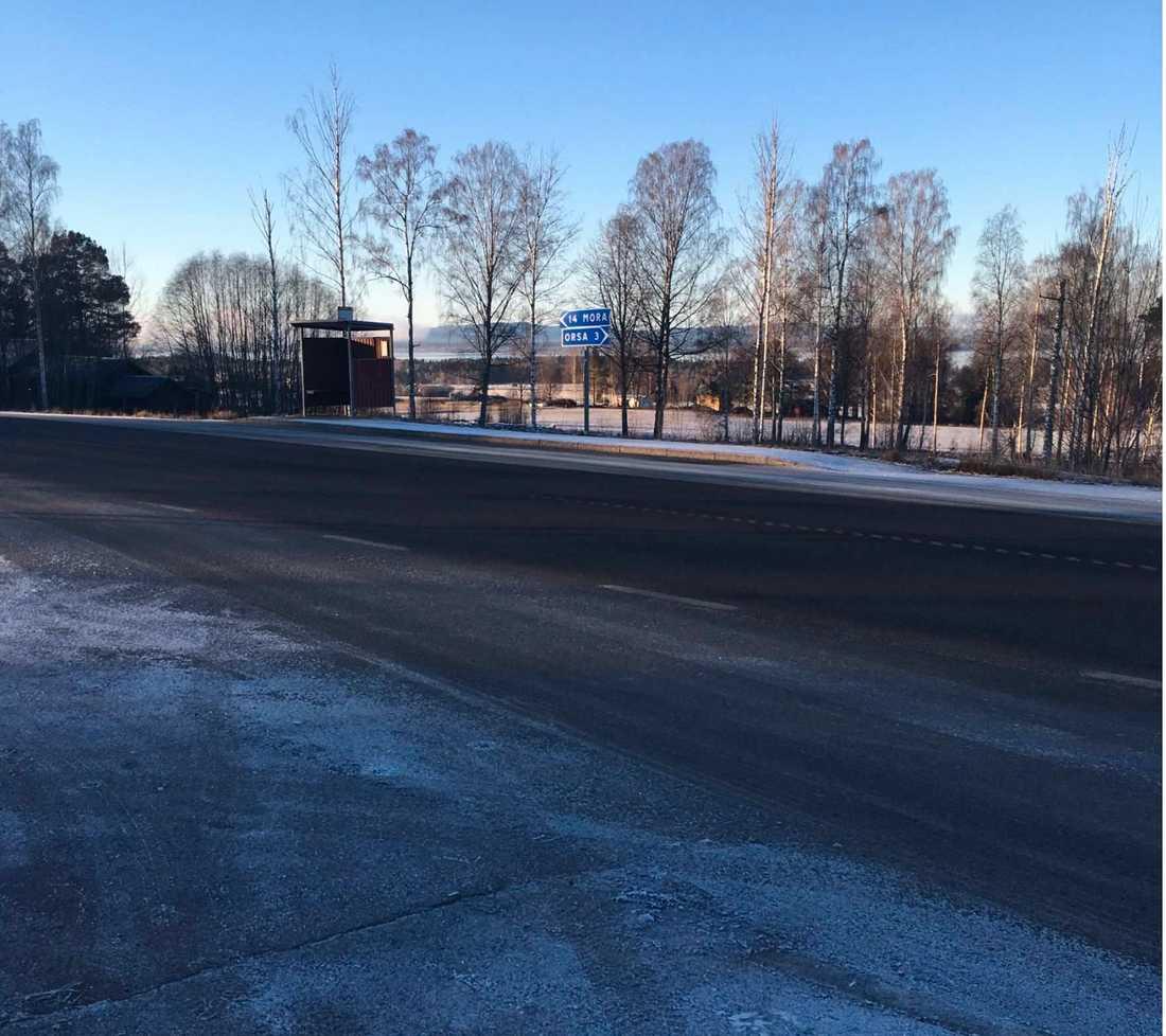 Här dödades 14-åriga Elsa Englund av en påverkad man i 50-års åldern.
