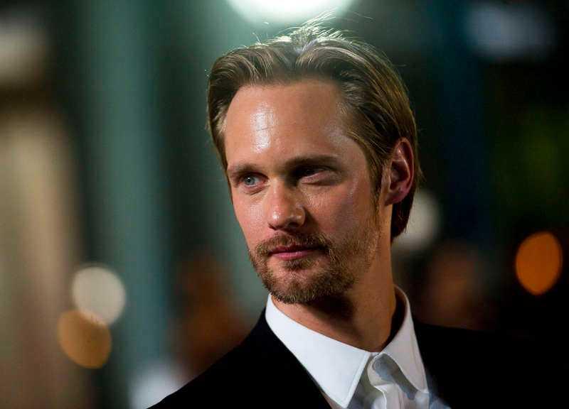 Alexander Skarsgård är en av alla svenskar som lyckats i USA.