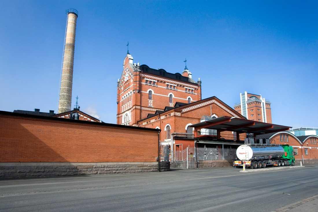 Absoluts anläggning i Åhus. Arkivbild.