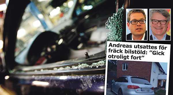 """Anders Ydstedt och Wilhelm Douglas, KAK, skriver att bilstölderna minskar i Sverige, men blir samtidigt brutalare. Tjuvarna riktar in sig på exklusiva bilar - som de hittar via bilregistrets uppgifter: """"Sverige ska inte vara en frizon för biltjuvar."""" skriver de."""