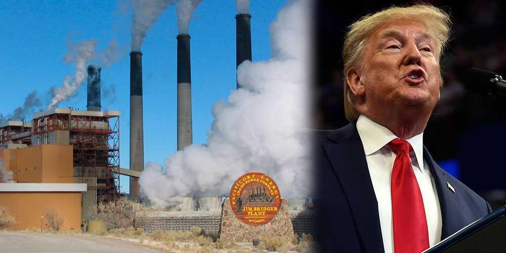 Håller linjen. Vill rädda kolindustrin – och möjliggör större utsläpp.