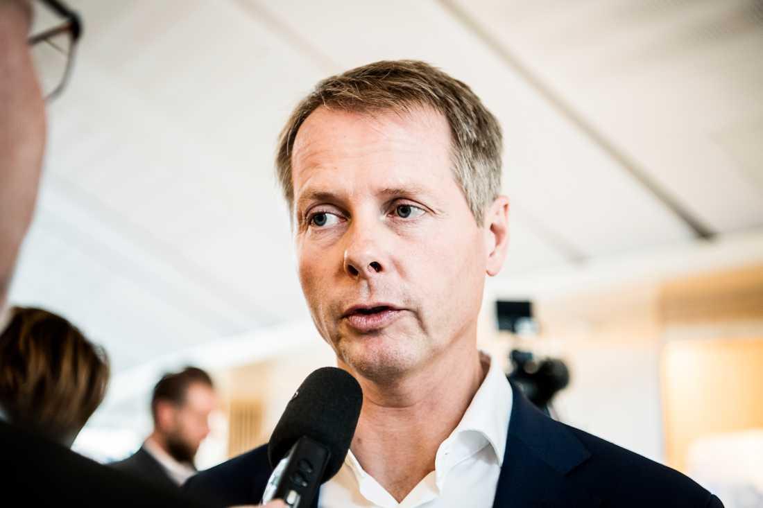 Christer Nylander, partiledningens andrahandsval.
