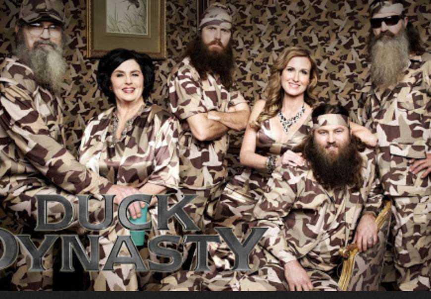 """""""Duck dynasty""""."""