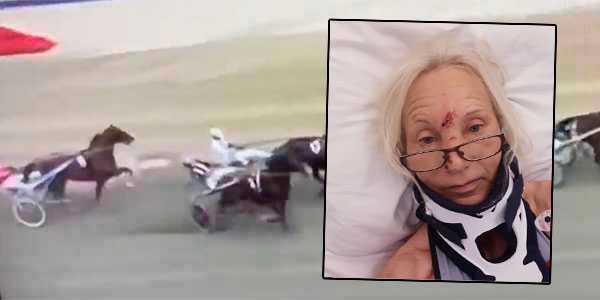 Jane Helen Stareng skriver själv från sjuksängen efter den otäcka olyckan.