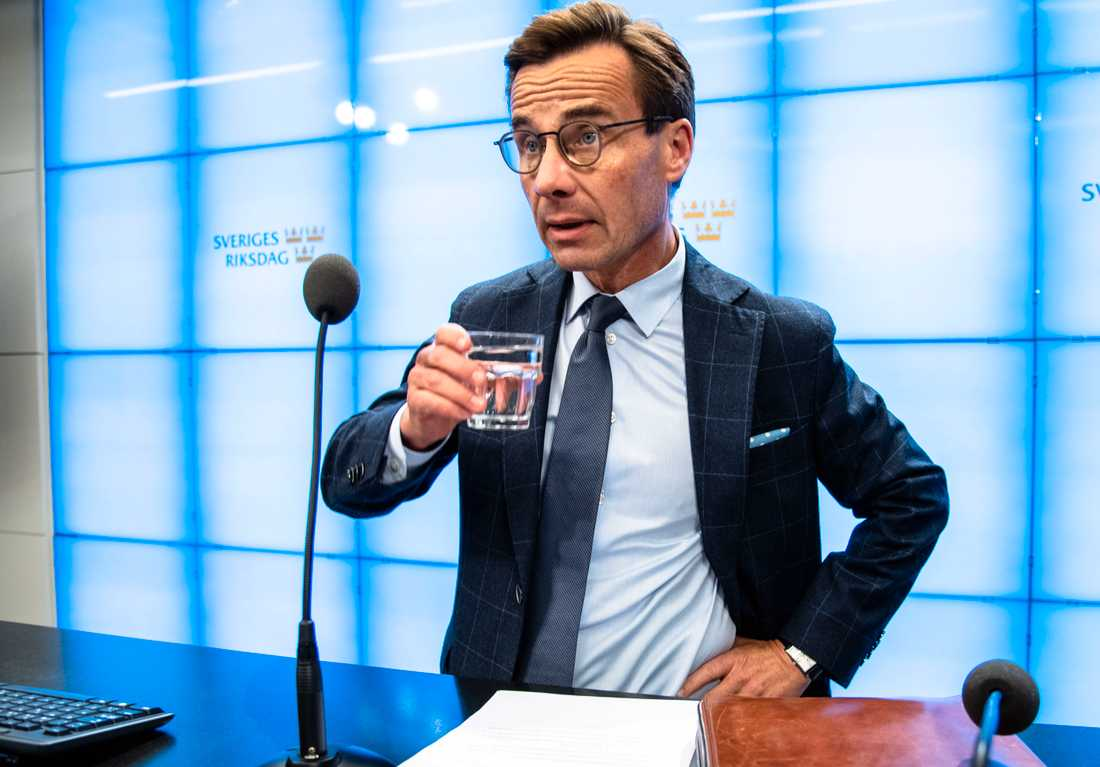Ulf Kristersson (M) har nu fått i uppdrag att försöka bilda regering.