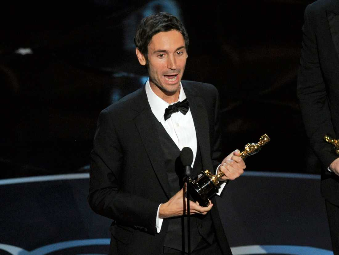 """Malik Bendjelloul belönades med en Oscar för dokumentärfilmen """"Searching for Sugar Man"""" 2013. Arkivbild."""