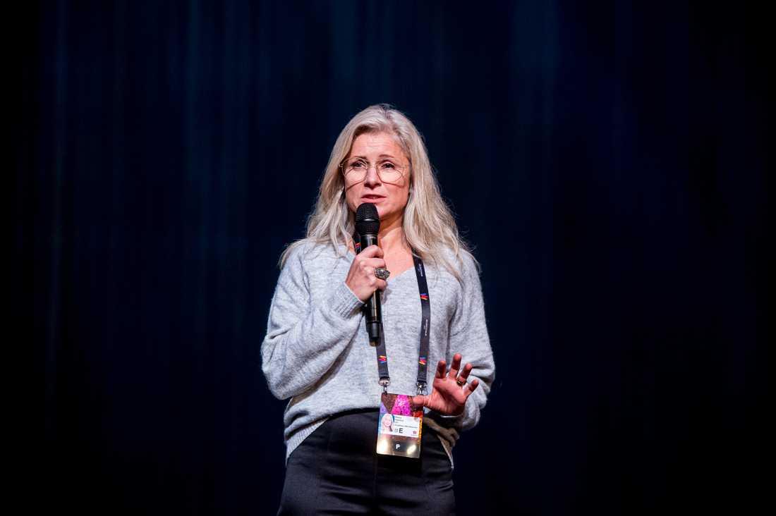 SVT:s exekutiva producent Anette Helenius.