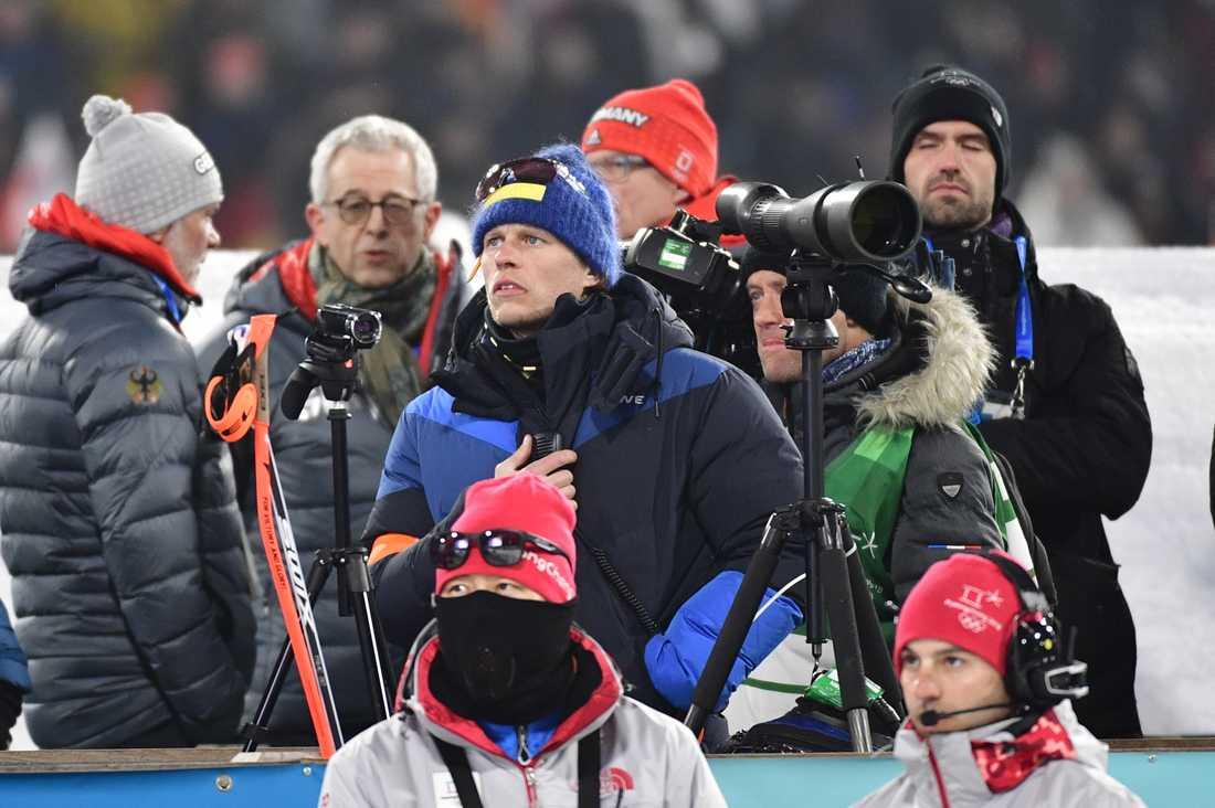 Johan Hagström under loppet.