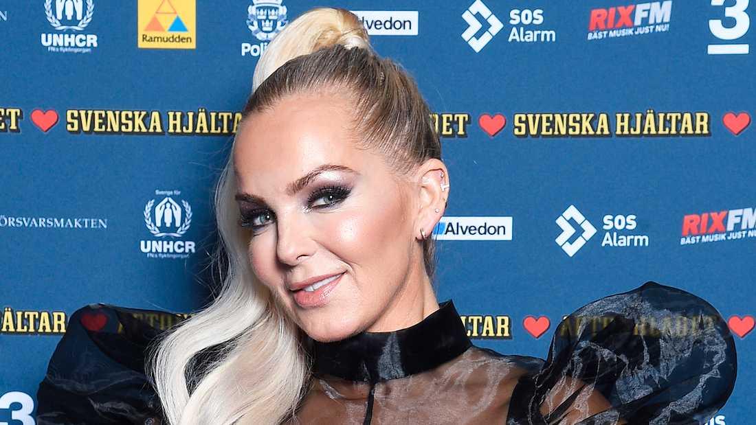 Tess Merkel från Alcazar satsar nu solo i Melodifestivalen.
