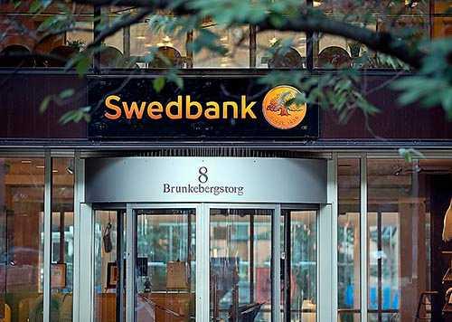 Swedbanks huvudkontor i centrala Stockholm.