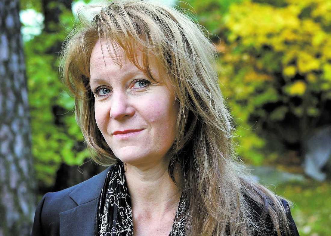 """Maria Lundqvist kan kamma hem en Guldbagge för rollen i """"Himlens hjärta""""."""