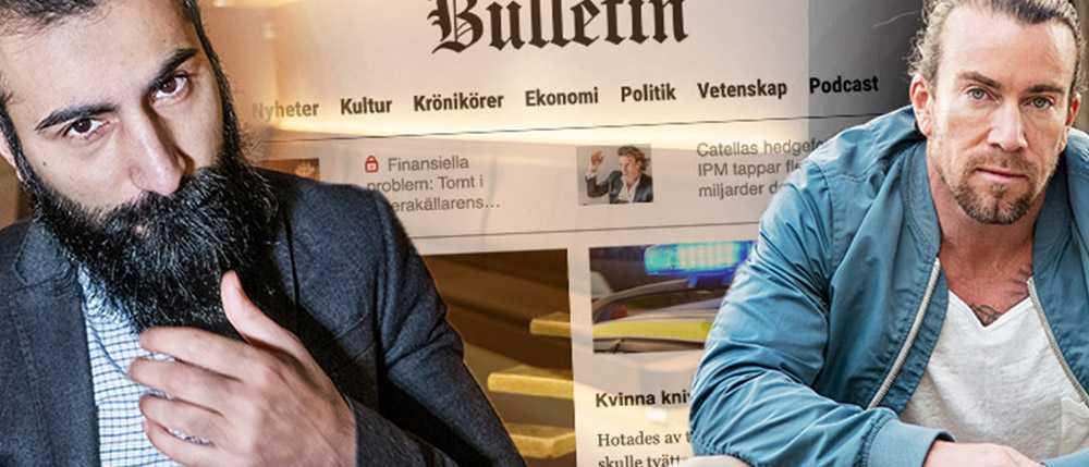 Det blir Hanif Balis och Jan Emanuels nya jobb på Bulletin