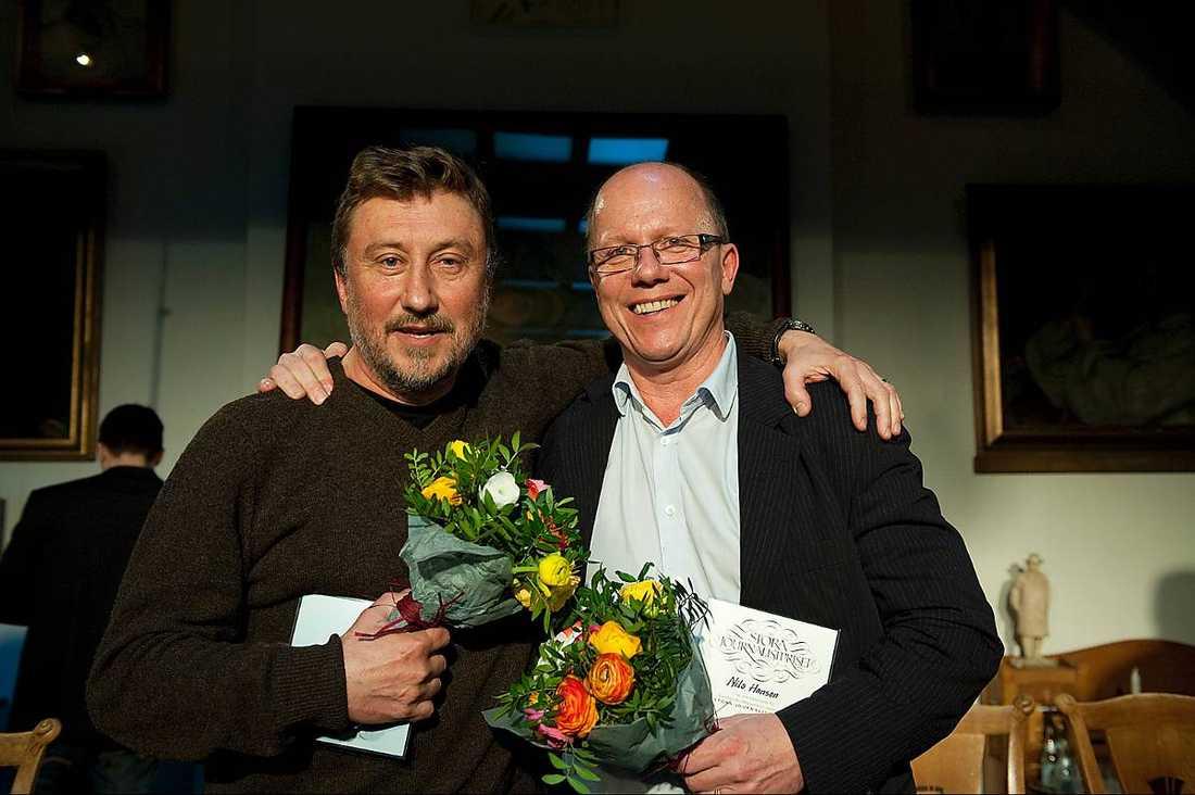 Janne Josefsson och Nils Hanson.
